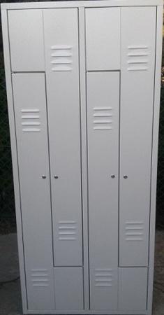 77157022 Szafa odzieżowa, 4 drzwi L (wymiary: 1800x800x480 mm)