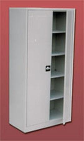 77157034 Szafa biurowa, 2 drzwi, 4 półki przestawiane (wymiary: 1800x800x460 mm)