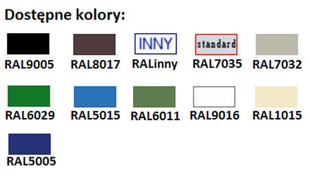 77157058 Szafa biurowa, 2 drzwi, 4 półki regulowane (wymiary: 2000x900x460 mm)