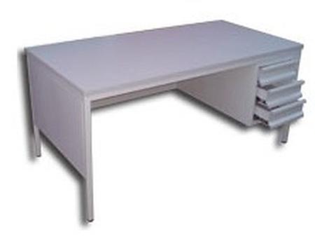 77157070 Biurko, 3 szuflady (wymiary: 1400x800x750 mm)