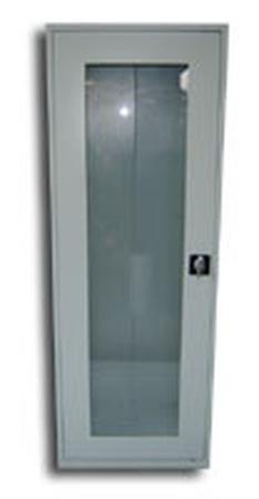 77157098 Szafa biurowa przeszklona, 1 drzwi, 4 półki (wymiary: 1800x700x460 mm)