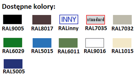 77157183 Szafa narzędziowa przeszklona, 4 półki (wymiary: 1800x700x460 mm)