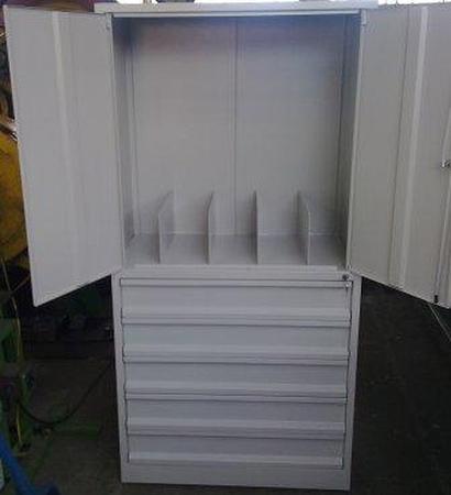 77157234 Szafa narzędziowa, 5 szuflad (wymiary: 2000x800x500 mm)