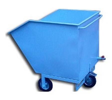 77157392 Wózek przechylny-wywrotnica, 190 L (wymiary: 750x800x950 mm)