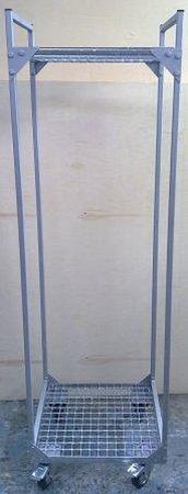 77157395 Wózek z półkami ażurowymi (wymiary: 1700x500x480 mm)