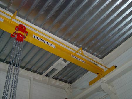 9588158 Wciągnik łańcuchowy przejezdny WŁ-25P (udźwig: 2,5 T)