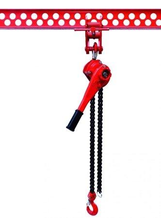 9588182 Wciągnik łańcuchowy dźwigniowy, łańcuch Galla WŁG-60A (udźwig: 6,0 T)