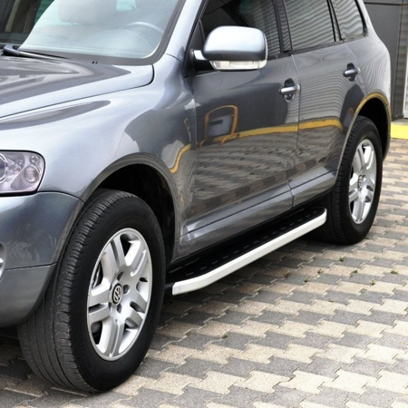 DOSTAWA GRATIS! 01655779 Stopnie boczne - Volkswagen Touareg 2003-2010 (długość: 193 cm)