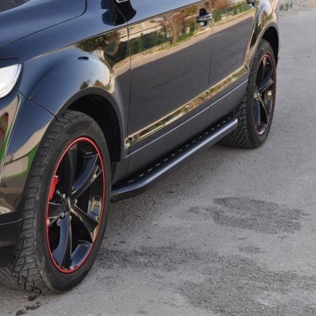 DOSTAWA GRATIS! 01655999 Stopnie boczne, czarne - Dodge RAM 1500 2009-2015 (długość: 205-220 cm)