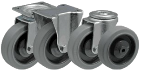 DOSTAWA GRATIS! 13340622 Wózek platformowy ręczny osiatkowany OS (koła: pełna guma 200 mm, nośność: 600 kg, wymiary: 1200x700x500 mm)