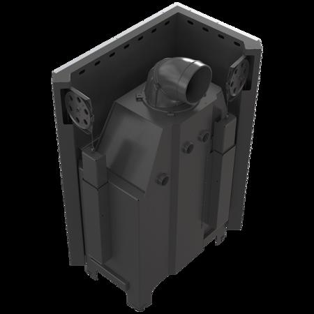 DOSTAWA GRATIS! 30053243 Wkład kominkowy 15kW MBO 15 BS Gilotyna (lewa boczna szyba bez szprosa, drzwi podnoszone do góry) - spełnia Ekoprojekt