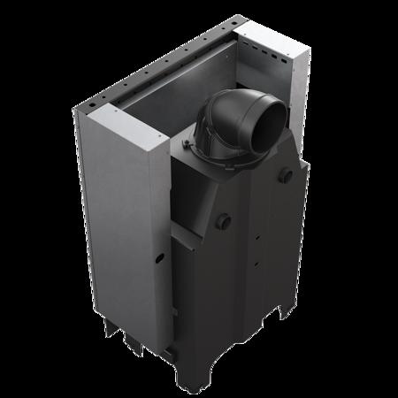 DOSTAWA GRATIS! 30055016 Wkład kominkowy 10kW MBM Gilotyna (szyba prosta, drzwi podnoszone do góry) - spełnia Ekoprojekt