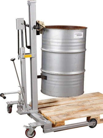 DOSTAWA GRATIS! 31026276 Wózek do beczek hydrauliczny (udźwig: 300 kg)