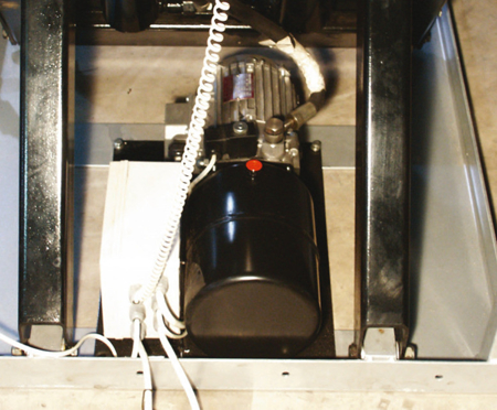 DOSTAWA GRATIS! 31046313 Stół podnośny elektryczny (wymiary platformy: 1000x2000mm, udźwig: 1000 kg)