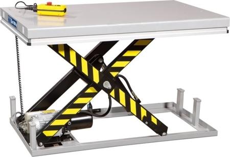 DOSTAWA GRATIS! 3109772 Stół podnośny elektryczny (wymiary platformy: 850x2000mm, udźwig: 1000 kg)