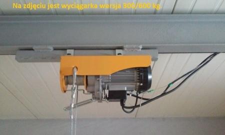 DOSTAWA GRATIS! 55928532 Wyciągarka linowa elektryczna Industrial 500/990 230V, hamulec automatyczny (udźwig: 500/990 kg)  stare 1200 kg