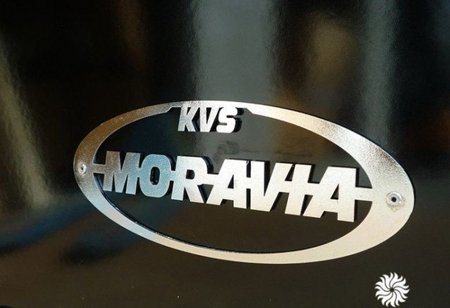 DOSTAWA GRATIS! 88828417 Kuchnia Moravia 9kW Bordo, wykończenia chrom (wylot spalin: góra)