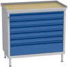 00150665 Szafka warsztatowa, 6 szuflad (wymiary: 850x900x505 mm)