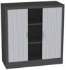 00150701 Szafa żaluzjowa, 2 półki (wymiary: 1250x120x600 mm)